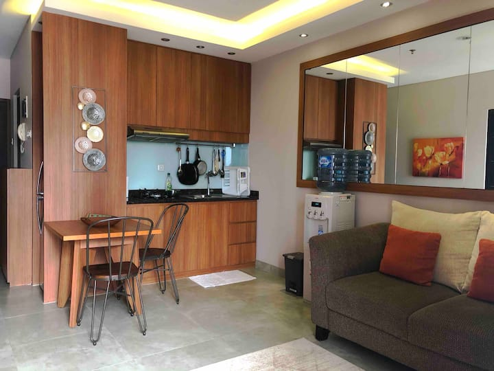 1 BR, Homey & Clean Apartment in the SCBD Area.