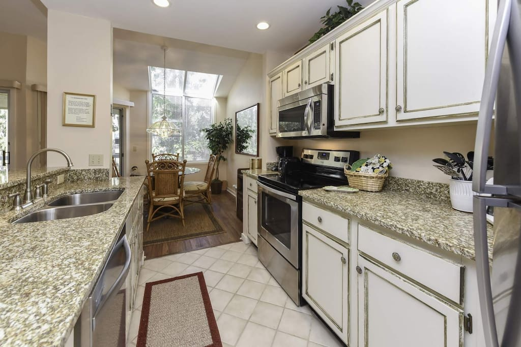 Remodeled Kitchen with new appliances