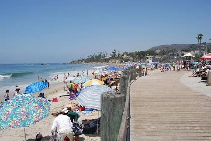 Main Beach in Laguna