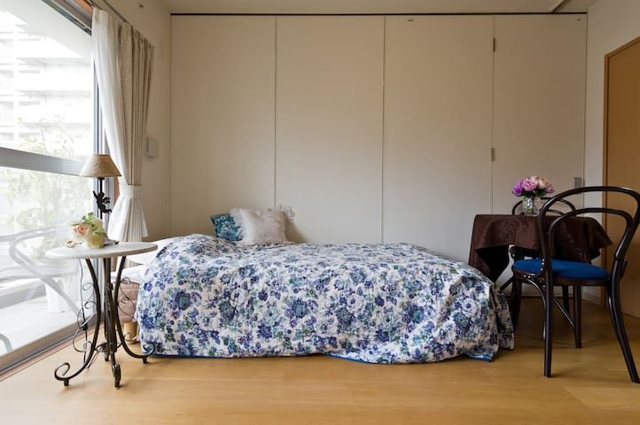 Excellent location & Beautiful room with balcony - Shinagawa-ku - Apartment