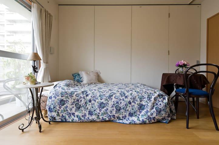 Excellent location & Beautiful room with balcony - Shinagawa-ku - Huoneisto