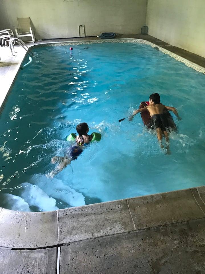 3BR 3BA Rental with Indoor Pool & Large Yard