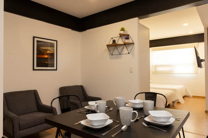 Beautiful double suite perfect Location 102