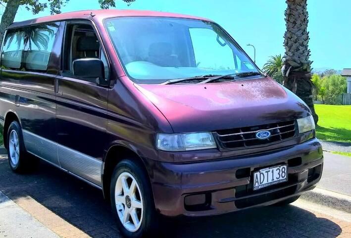 Self-contain Camper van