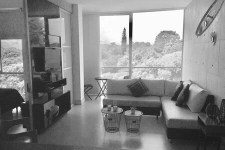 Apartaestudio loft,rodeado de naturaleza