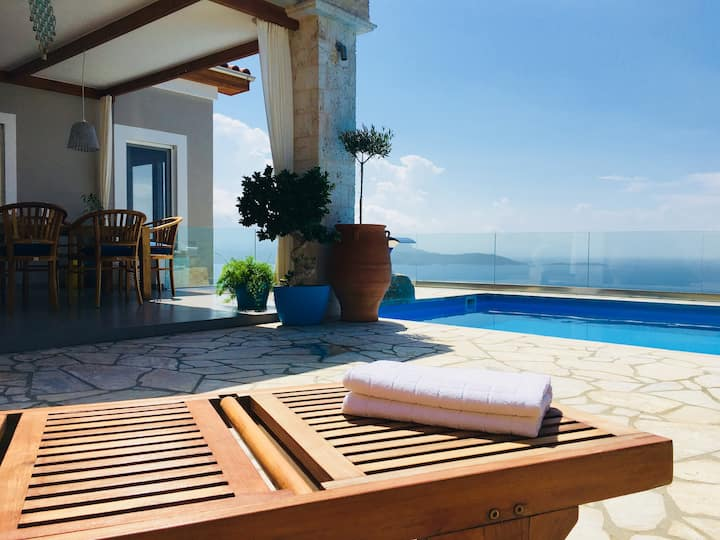 Most Enchanting View on Samos - Villa Samos