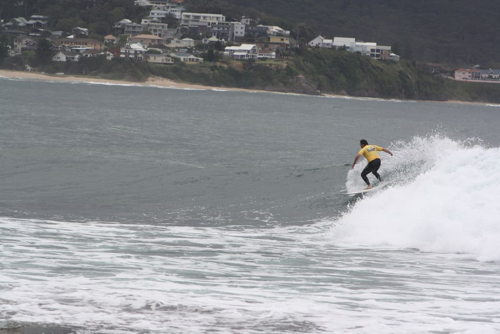 Watch local surfing comps