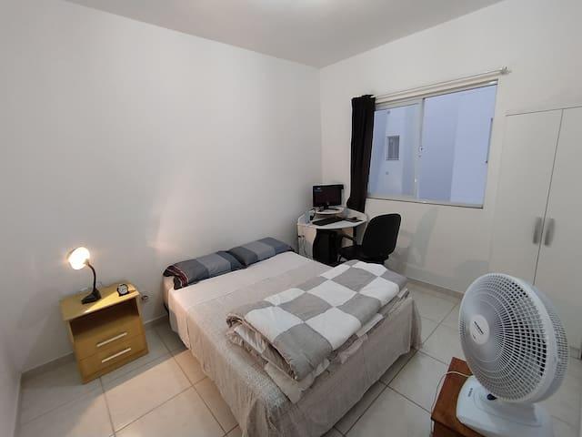 Dois quartos, conforto e praticidade
