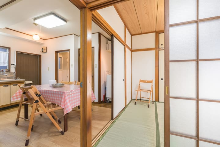 FreeWifi Reasonable 2BR, Easy to Shinjuk & Shibuya - Itabashi-ku - Pis