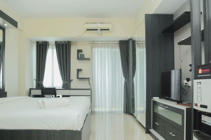 Nice View Studio Apartment @ Grand Dhika City