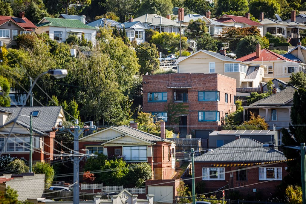 West Hobart neighbourhood