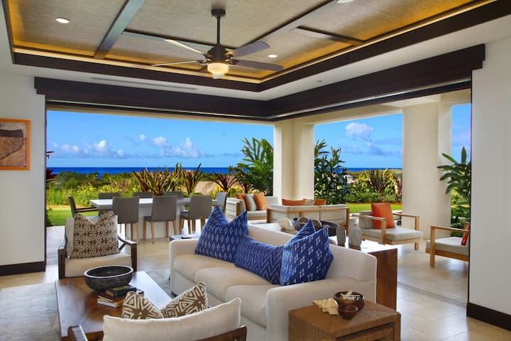 Luxury Ocean-View Condo With Pool, A/C, Modern Island Décor: Kainani VIlla #5