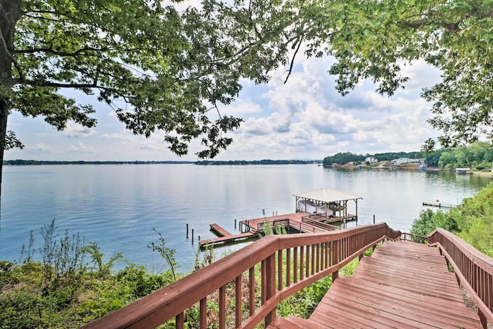 Waterfront Townhome with Dock on Weiss Lake!