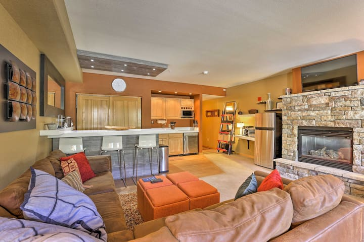 Upscale Keystone Studio Condo w/ Mountain Views!