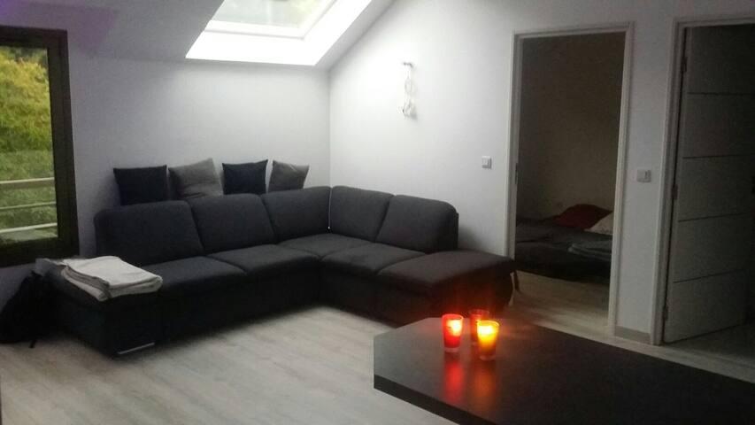 Appart 2 pièces spacieux & lumineux - Méry-sur-Oise - อพาร์ทเมนท์