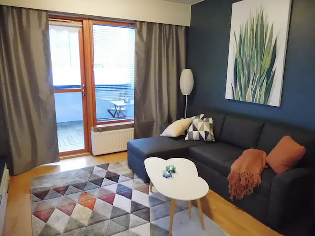 46 m2 apartment few steps from Lappeenranta center