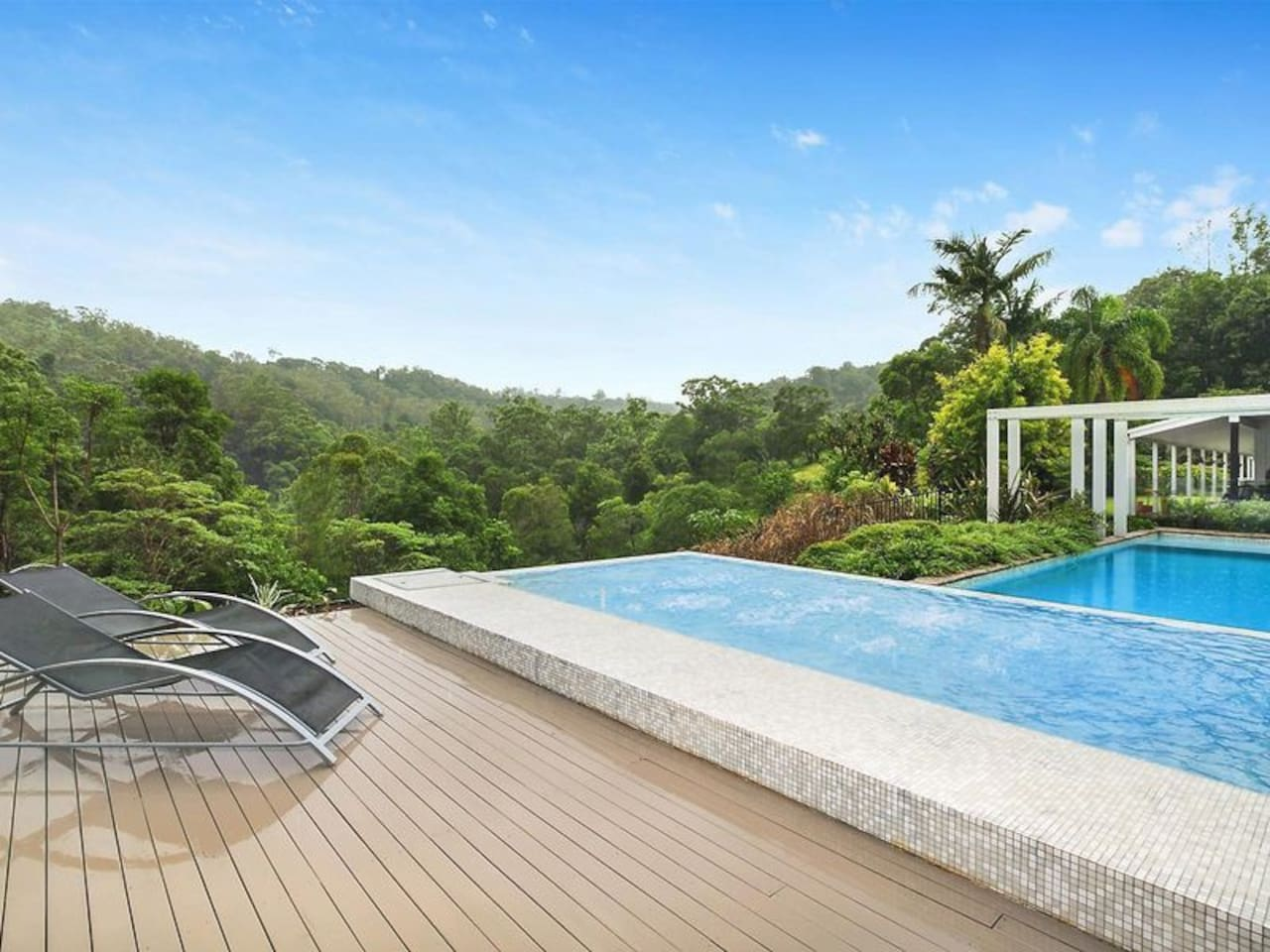 Escape to the Pool House at Flaxton