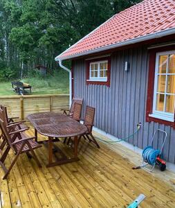Nybyggd stuga i vackra Bohuslän