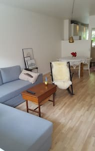 Cozy and charming apartment with a sunny balcony - København - Apartment