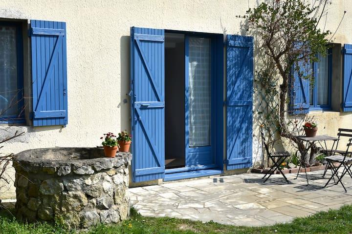 Les volets bleus