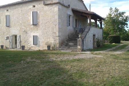 Gîte proche Cahors 6/8 personnes - Lalbenque