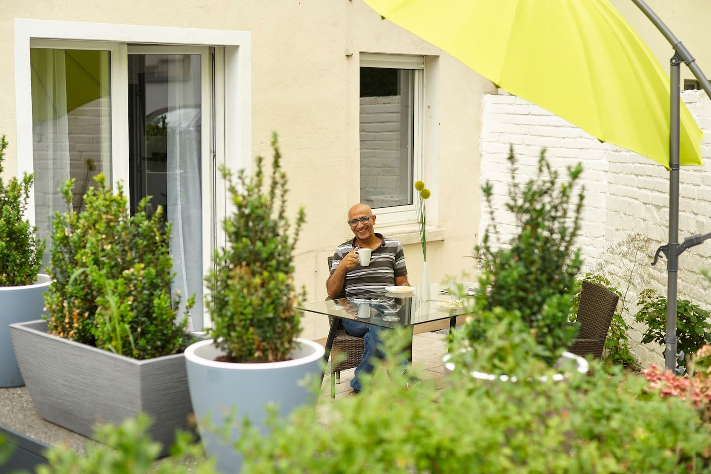 Traumhaftes Apartment mit Terrasse - zum Wohnen, Entspannen, Arbeiten und mehr