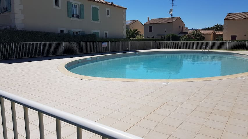 NARBONNE PLAGE : Appartement T3, 5 couchages