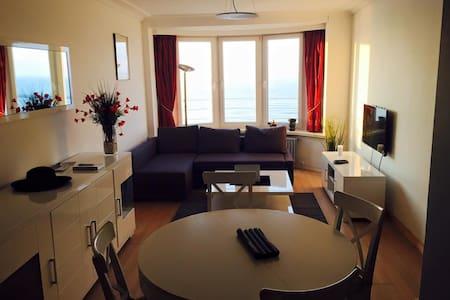 Appartement, zeedijk Oostende met prachtig zicht