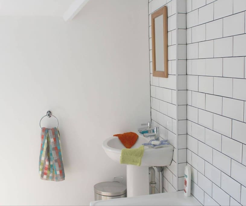 It's a bathroom. But it's lovely and bright.