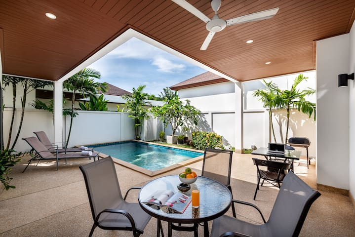 Big Buddha View, Boutique 3br Pool Villa