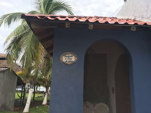 Entrance to the home