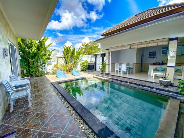 Beautiful 2-bedroom Villa  in Canggu 5min to Beach