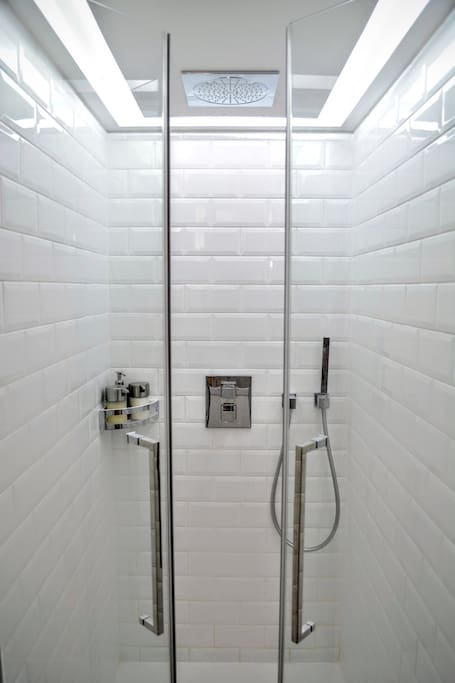 Luxury Shower experience. Grohe Rainshower with the highest quality finishings.