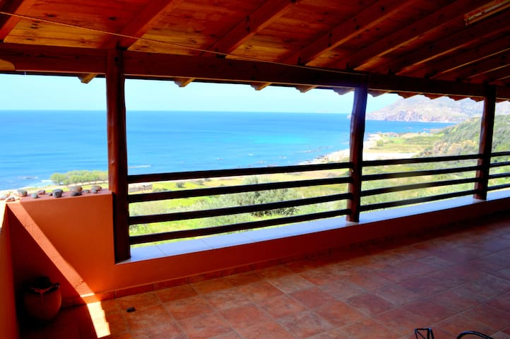 Edem Apartments Sea View - Sfinari - House