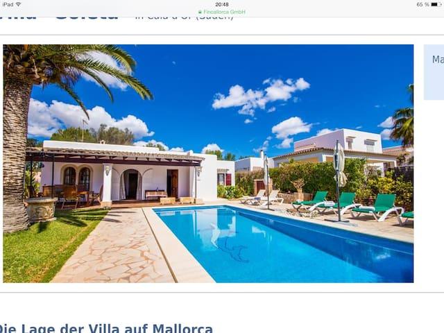 Vila la Goleta - Santanyí - Villa