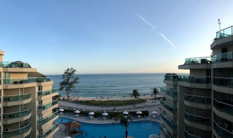 Apart Hotel frente ao mar, Praia do Pontal (FLAT)