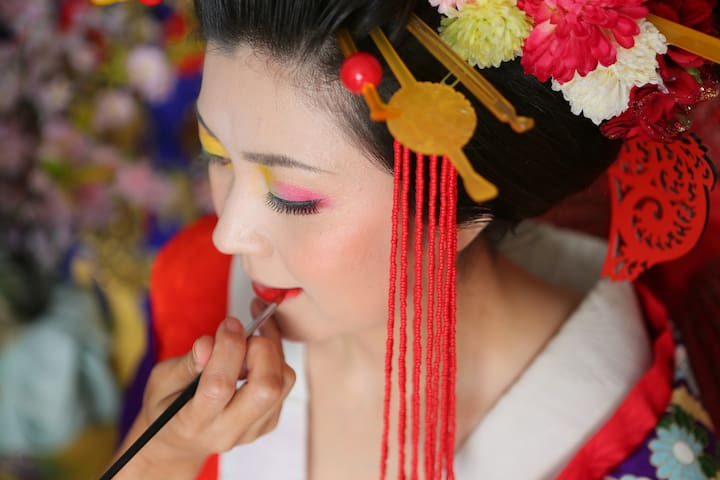 Geisha Makeover Photo Experience - Toyohashi-shi - Apartment