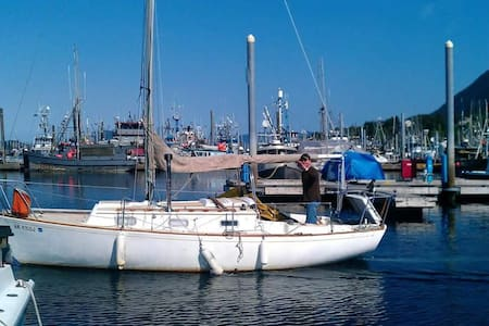 Cozy Southeast Alaskan Sailboat - Sitka