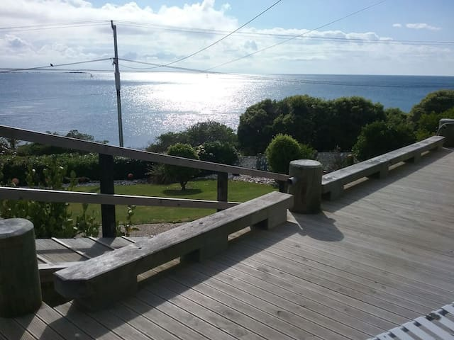 views from the north facing deck