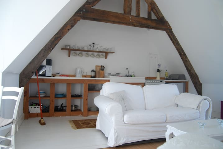 Converted Barn Loft in Rural Brittany - Nr St Malo - Loft