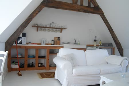 Converted Barn Loft in Rural Brittany - Nr St Malo