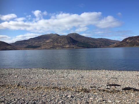 Isle of Skye gateway on beautiful Glenelg beach