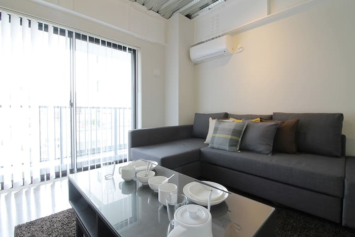 bHotel703 Apt for 6ppl few mins walk to PeacePark