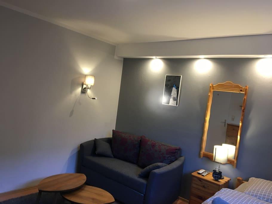 Gästezimmer Couch