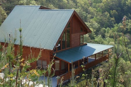 Beautiful cabin with amazing views - Sevierville
