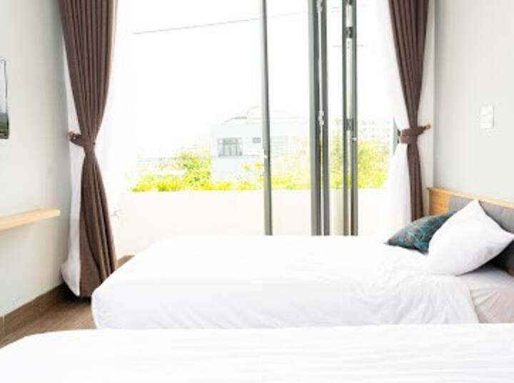 Cozy twin bed room in Da Nang