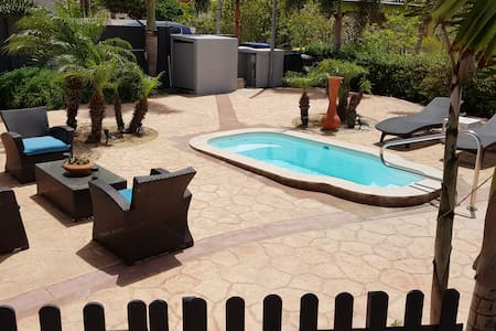Cattoo Suites. 1 bdrm apt with pvt plunge pool.