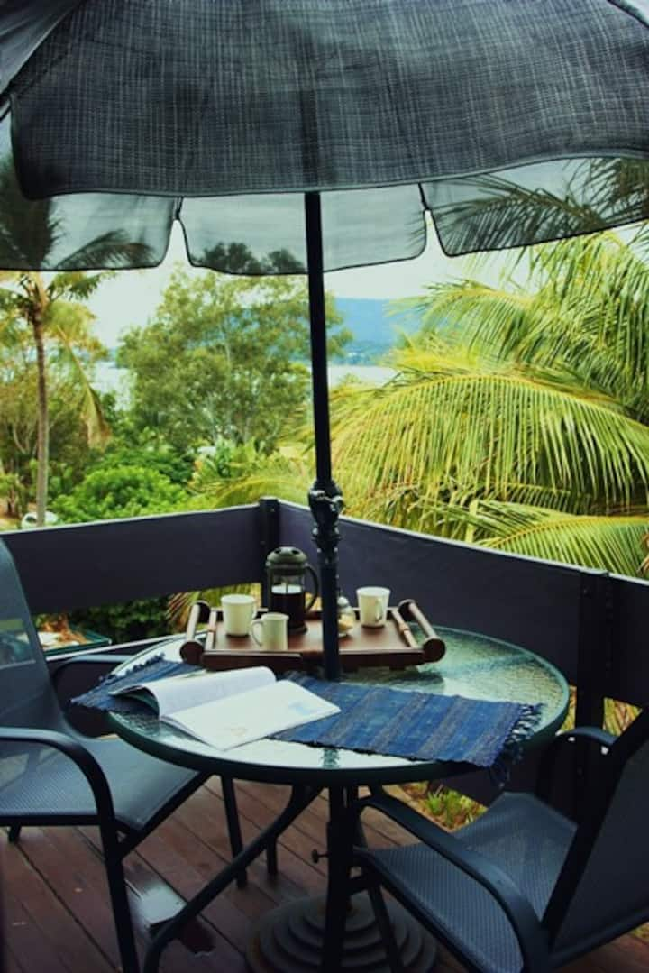 Ocean View Suite, Quiet, Central, Airlie Beach