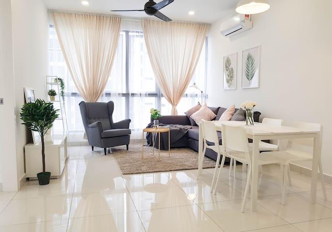 Cozy, Nordic Eco Nest apartment 【北欧简约式民宿/乐高乐园】