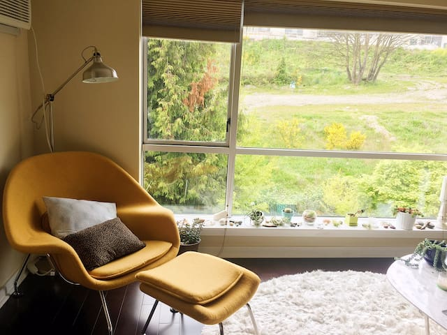Mid-century Modern Style in the Heart of Seattle